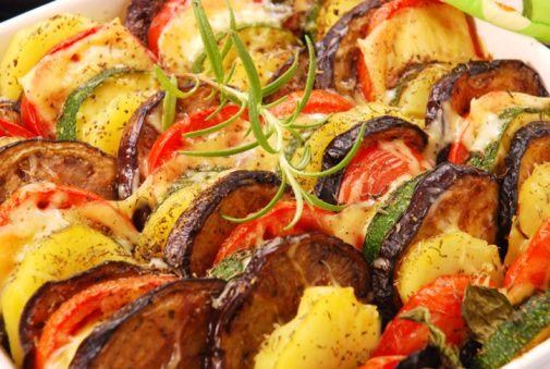 Рецепт з овочі в духовці