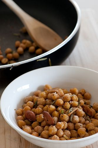 Warm Chickpea Salad | Sides and Salads | Pinterest