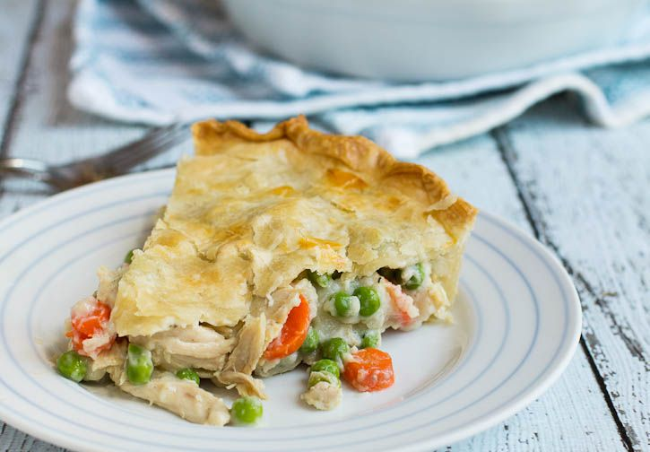 Easy Chicken Pot Pie- I made this and it was wonderful. I added 3/4 ...