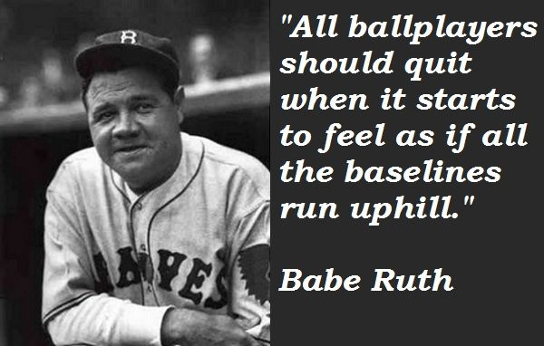 Babe Ruth good advice Left Handers and