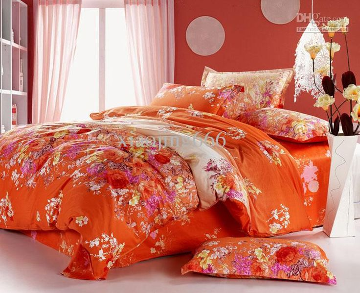 Pin by traci sims on rhymes with orange pinterest - Red and orange comforter sets ...