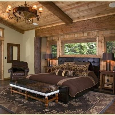 Rustic master suite for the home pinterest for Master bedroom on suite