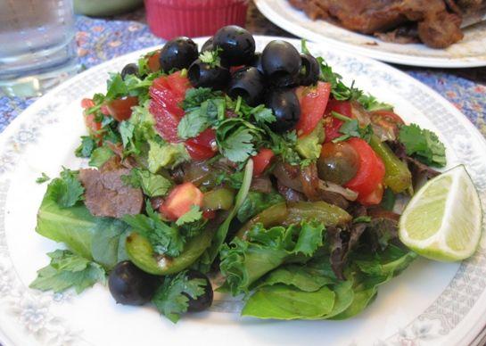 Steak Taco Salad | Paleo | Pinterest