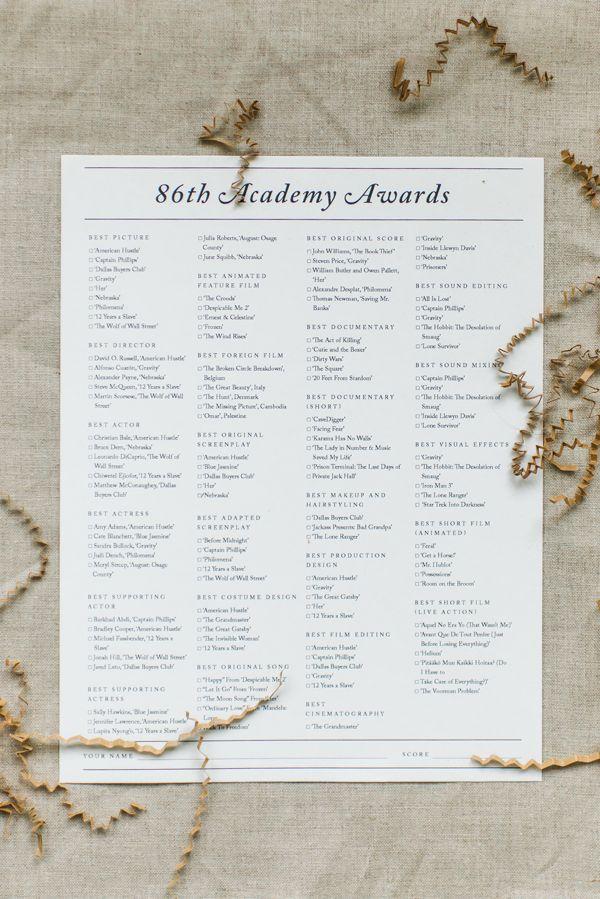 """... Results for """"Academy Award Printable Ballot"""" – Calendar 2015"""