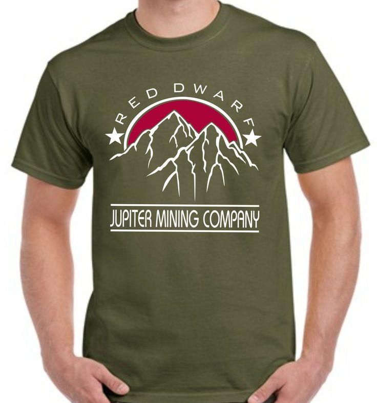 Red Dwarf Jupiter Mining Company T Shirt Tv T Shirts