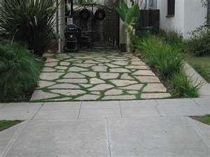 how to clean moss between patio bricks