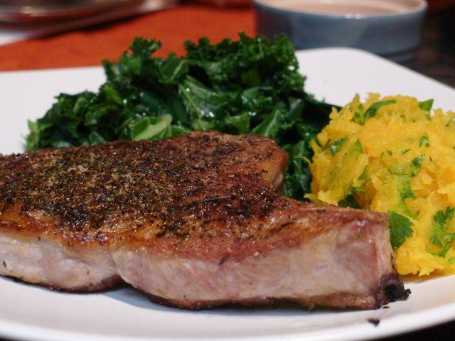 Pan Roasted Pork Chops - Food, Love, Joy | Food, Glorious Food! | Pin ...