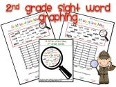 2nd Grade Sight Word Graphing product from TheMoffattGirls on TeachersNotebook.com