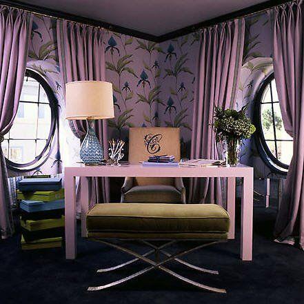 Purple Office Home Design Decor And Organization