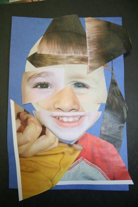 Romare Bearden Preschool Art Lesson