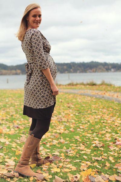 Sew Well's BurdaStyle Twisted Dress in Mood's Silk Jersey. #moodfabrics