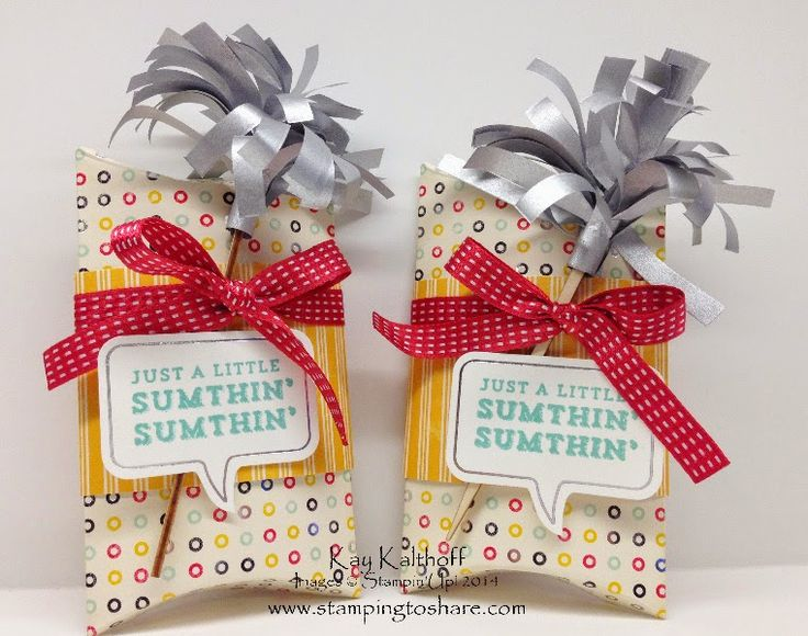 A Little Sumthin' Sumthin' Gift Box Kit with How To Video - Also NEW Weekly Deals!, Kay Kalthoff, Stamping to Share, Stamin' Up!