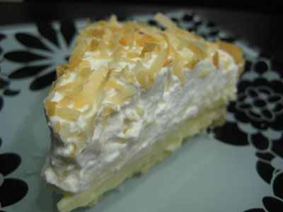 Toasted Coconut Custard Tart | Food~Pies # 2 | Pinterest