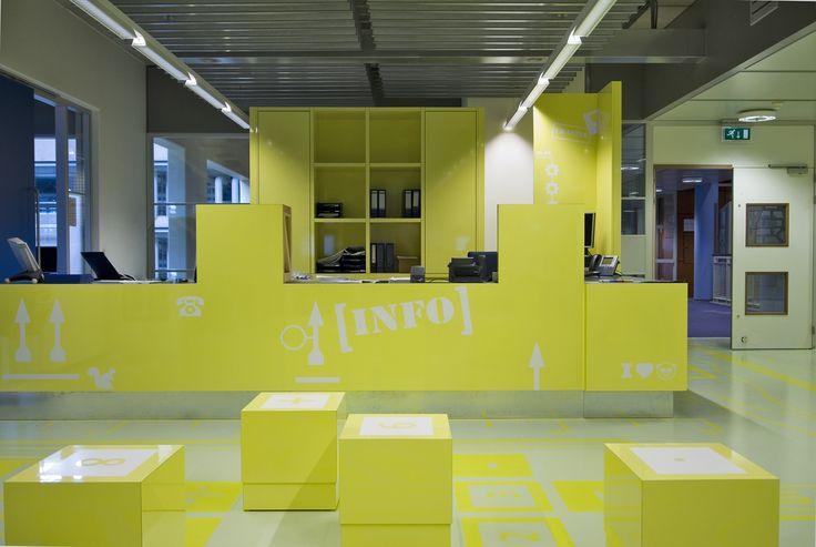 School Front Office Designs : Desks