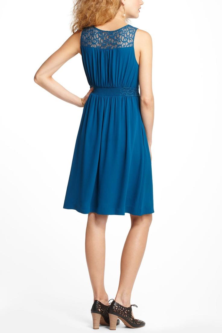 Lace yoke dress style pinterest for Anthropologie pinterest