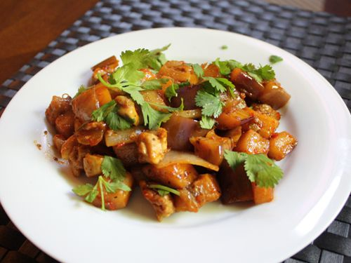 Dinner Tonight: Chicken And Eggplant in Black Bean Sauce | Serious ...