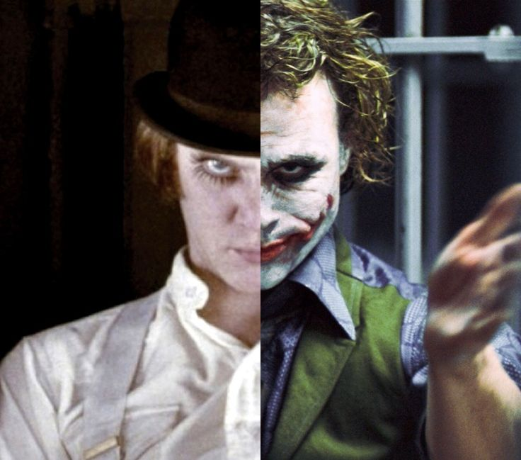 Alex Delarge and The Joker | The Joker | Pinterest
