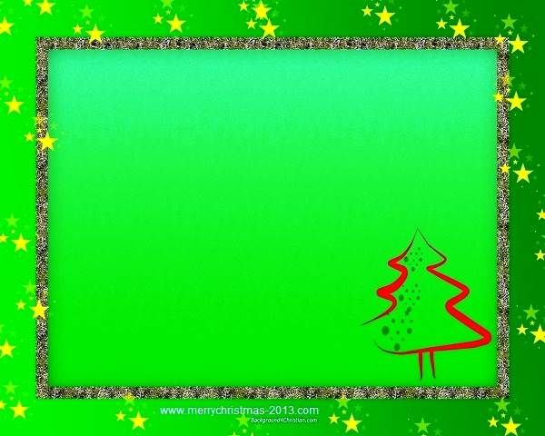 Green Christmas Clip Art Borders Free Download