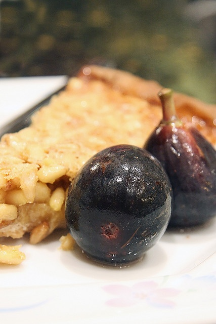 Honey and Pine Nut Tart w/ Honey-Spice Poached Figs by Isabelle ...