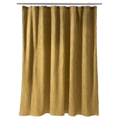 GOLD LEAF SHOWER CURTAIN | BLIND CURTAIN MAKING