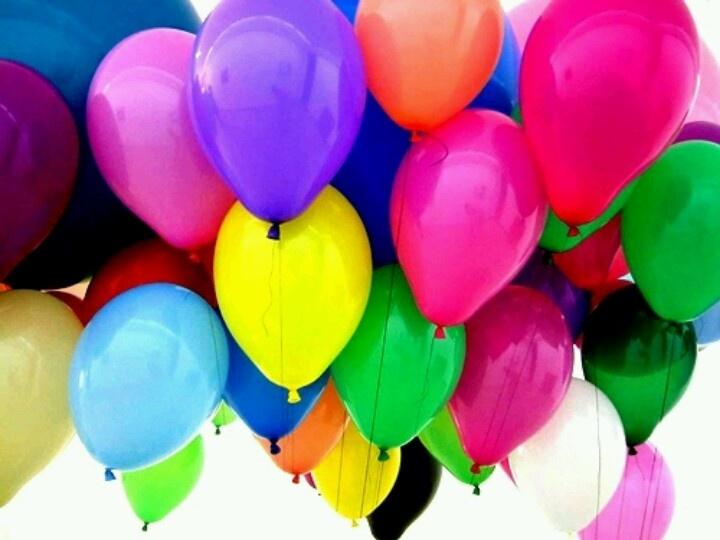 Lotsa Colorful Baloons Rainbows And Colorful Things