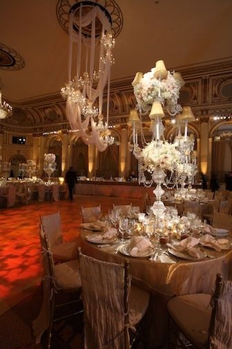 DAVID TUTERA WEDDING RECEPTIONS