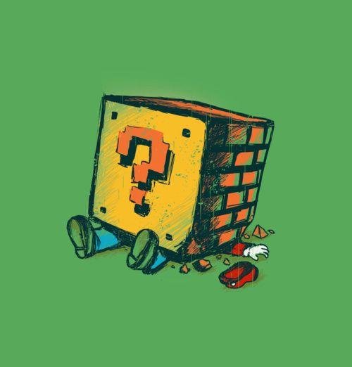 Mario - Loose Brick by Budi Satria Kwan