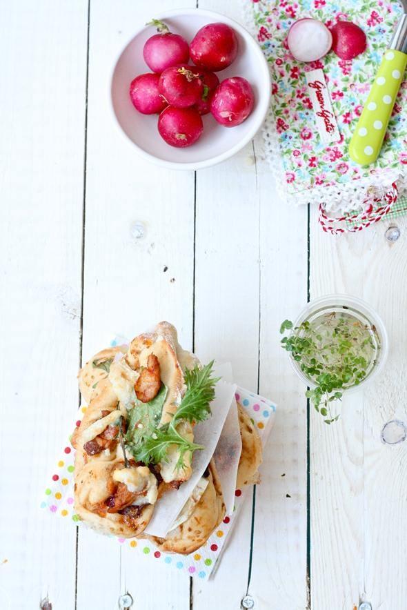 pizza via blog resipi. | Food Photography | Pinterest