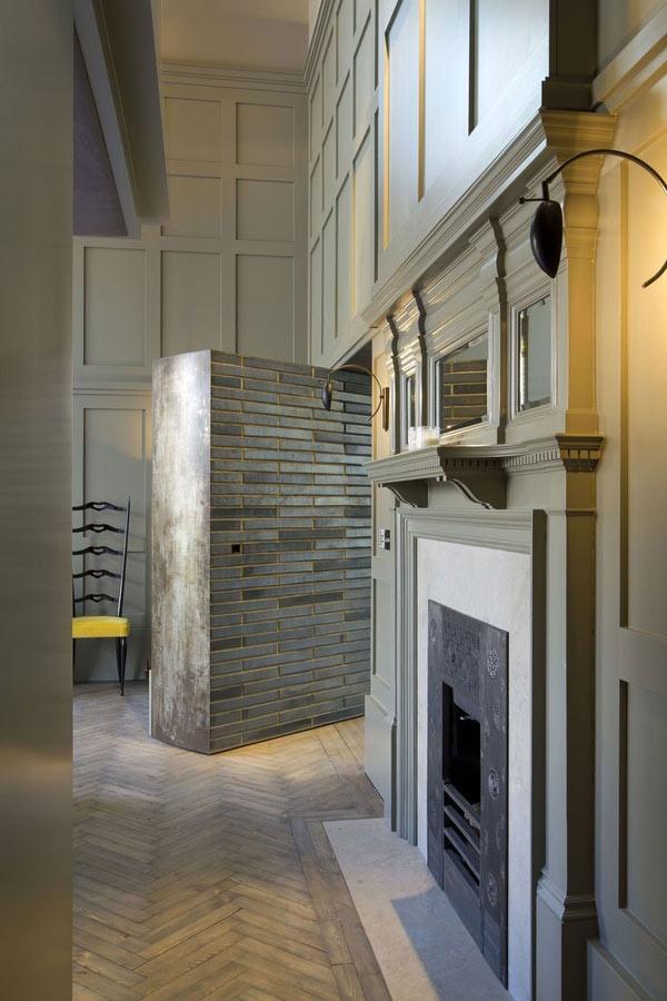 Oh my god, it's an actual hidden wall door!