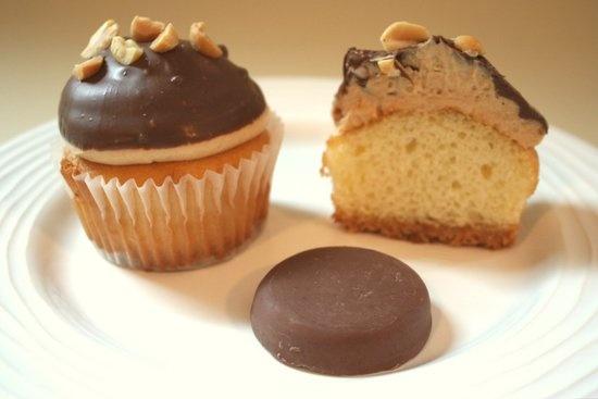 Tagalong Cupcakes | Cupcakes | Pinterest
