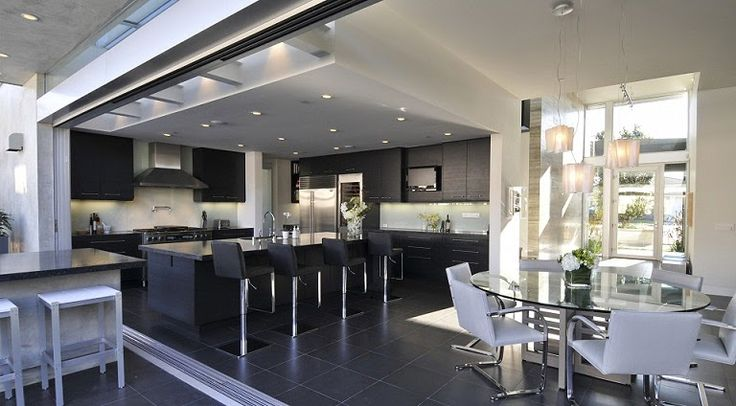 Cocina Contemporanea : Kitchen and Dining Area Designs