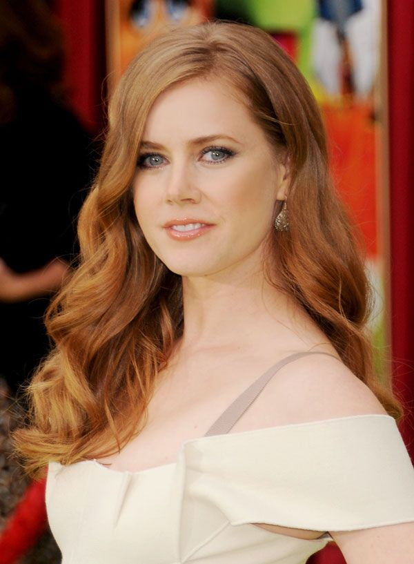 strawberry blonde Amy Adams inspired my heroine, Josie Montgomery
