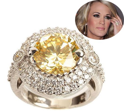 Carrie Underwoods wedding ring