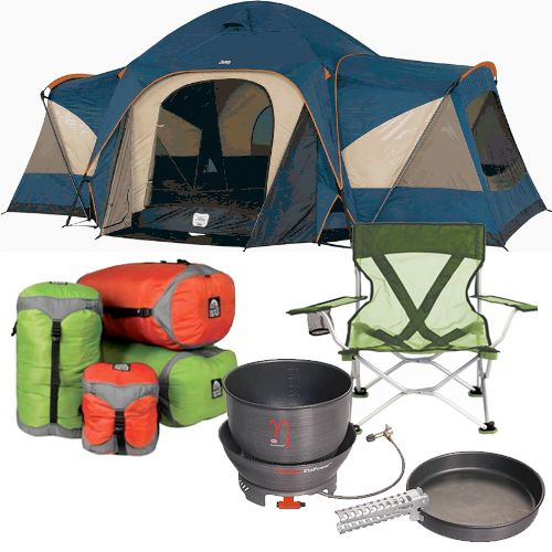 family camping equipment family time pinterest