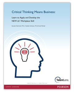 white paper on critical thinking