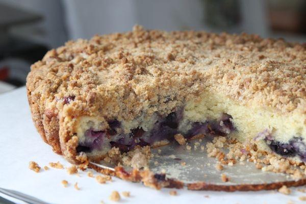 Blueberry Crumb Cake | My Beliefs | Pinterest