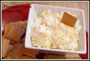 Pineapple Cream Cheese Dip - Confessions of a Cooking Diva