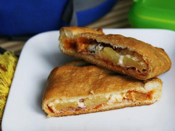 Hawaiian Pizza Pockets | Recipe