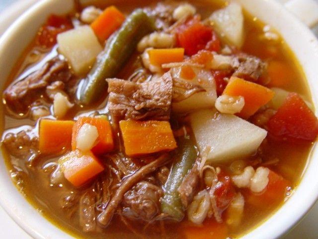 Vegetable Beef Soup | Recipe