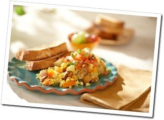 Freezer-Friendly Greens & Tofu Scramble Wraps Recipe — Dishmaps