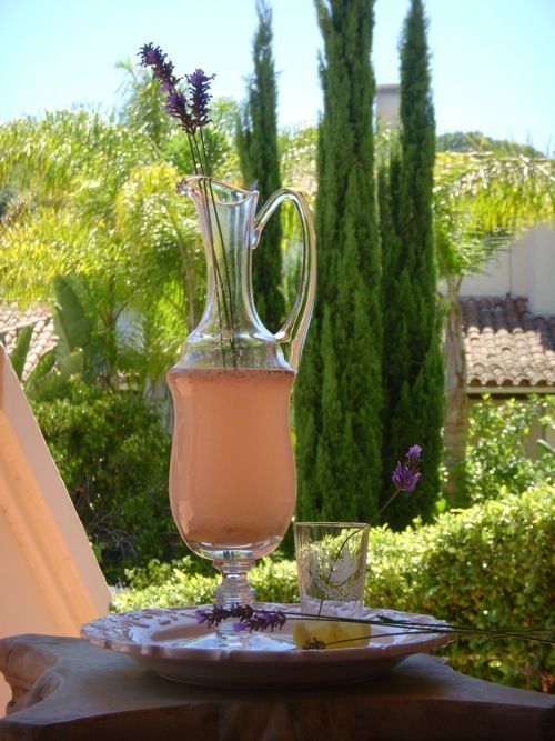 Lavender-Infused Lemonade | Thirst Quenchers | Pinterest
