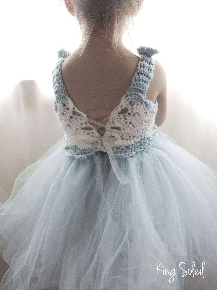 Flower Girl Tutu Dress Crochet Bodice So Sweet Pinterest