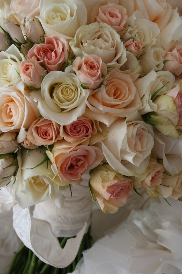 Blush Garden Spray Roses Bouquet Floral Inspirations
