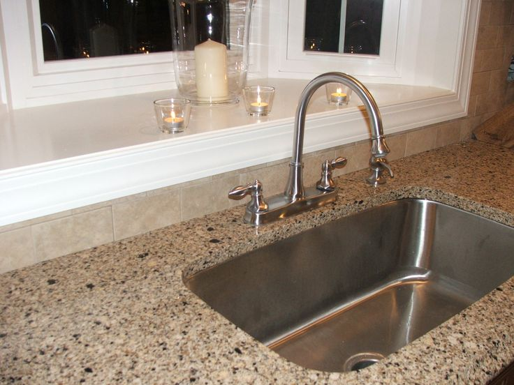 Extra Deep Stainless Steel Utility Sink : Extra large/deep stainless steel sink. Artic Quill Kitchen Remodel ...