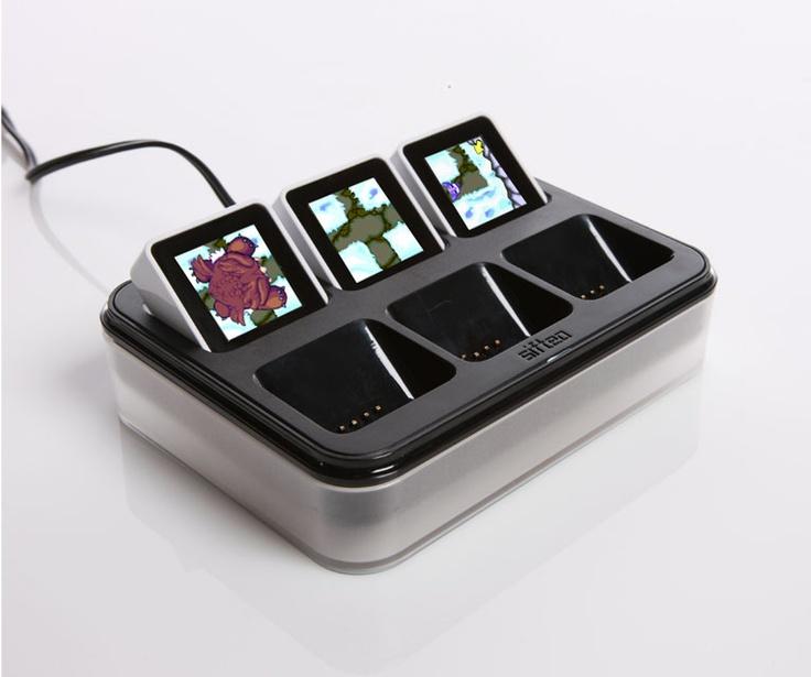 Sifteo interactive gaming cubes