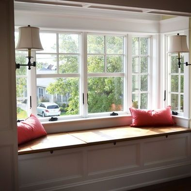 Box bay window apartment pinterest for Bay window remodel