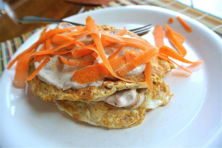 Carrot Cake Protein Pancakes | Breakfast | Pinterest