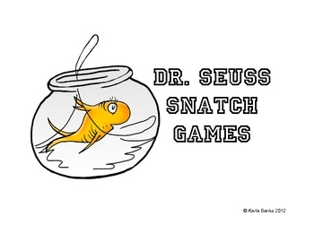 FREE Dr. Seuss Snatch Games