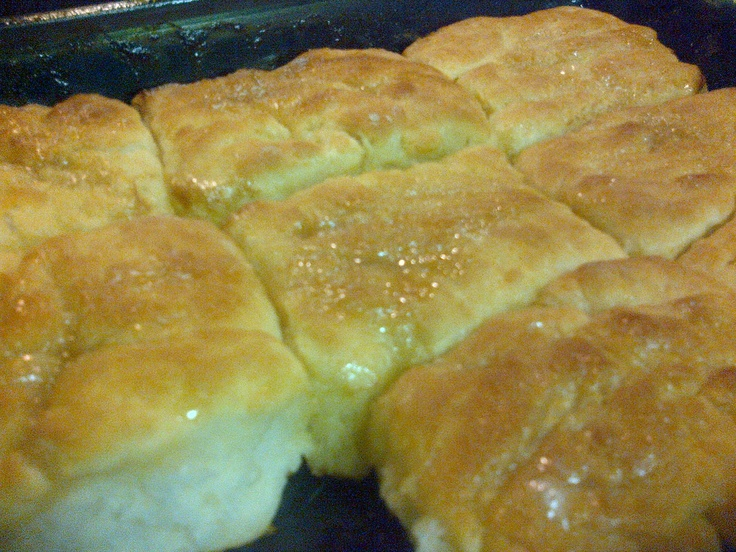 Honey butter biscuits made from scratch | Food to try | Pinterest