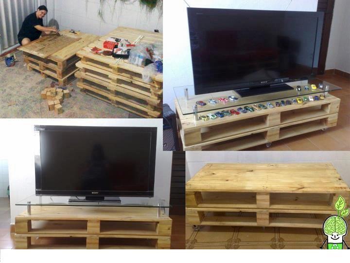 ideas para hacer muebles con palets muebles hechos con